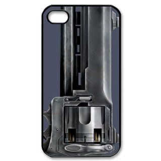 Icasesstore Cool Pistol Hard Cover Case for Iphone 4/4s 1aa737 Cell Phones & Accessories