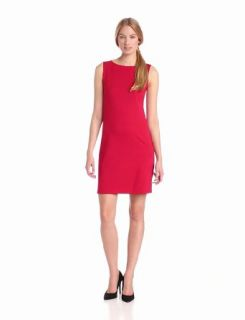 Isaac Mizrahi Women's Sleeveless Ponte Sheath Dress