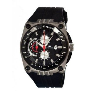 Sportive Men's Rubber Watch Primary Color Black with Silver at  Men's Watch store.
