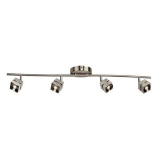 AFX Cantrell 4 Light Linear Fixed Rail with 4 Heads Fixed Track