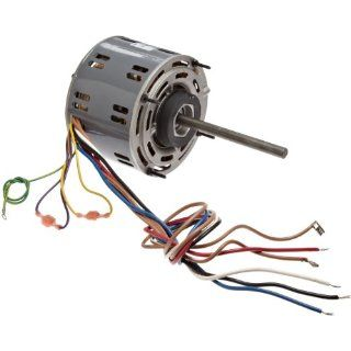 "Fasco D721 5.6"" Frame Open Ventilated Permanent Split Capacitor Direct Drive Blower Motor with Sleeve Bearing, 1/4 1/5 1/6HP, 1075rpm, 115V, 60Hz, 4.8 3.3 2.6 amps Electronic Component Motors"