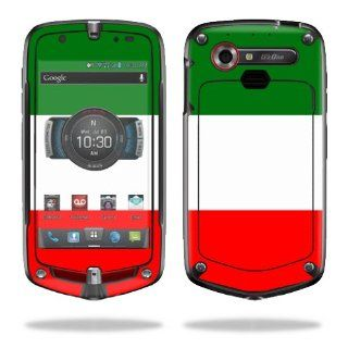 MightySkins Protective Vinyl Skin Decal Cover for Casio G'zOne Commando 4G LTE C811 GZ1 Verizon Cell Phone Sticker Skins Italian Flag Electronics