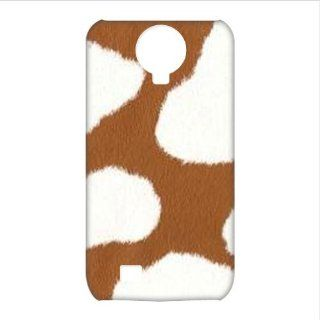 Cow Print 3D Cases Accessories for Samsung Galaxy S4 I9500 Cell Phones & Accessories