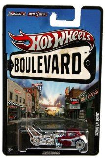2012 Hot Wheels Boulevard Whatta Drag   Real Riders Toys & Games