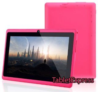 Dragon Touch® 7'' Pink Google Android 4.2 8GB Allwinner A13 Tablet MID Cortex A8 1.2GHz, Capactive Multiple Touch Screen, Google Play Pre Installed, USB OTG, Supports Skype Video Chat Calling, Netflix Movies and Flash Player MID748P A13 [by Ta