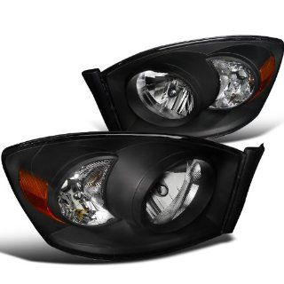 Dodge Ram Pickup Black Diamond Headlights Without Amber Bar Automotive