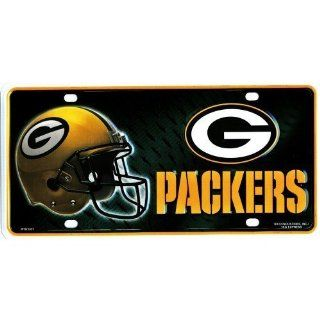 LP 753 Green Bay Packers NFL Football License Plate   3301M Automotive