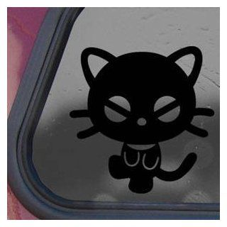 Chococat Black Sticker Decal Sanrio Hello Kitty Die cut Black Sticker Decal   Decorative Wall Appliques