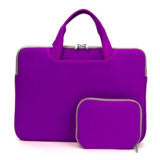 Coodio� Universal 13.3 inch Laptop Sleeve Bag Case Pouch Carrying Handbag Briefcase + Accessory Bag for Apple Macbook Air 13, Macbook Pro Retina 13 (Can NOT Fit HP ENVY 4 1100sl and Lenovo Yoga) (Violet) Computers & Accessories