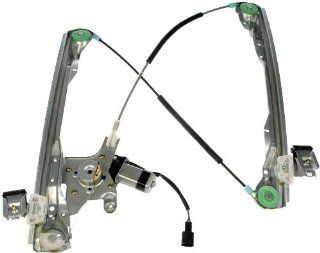 Dorman 741 874 Front Driver Side Replacement Power Window Regulator with Motor for Ford Focus Automotive