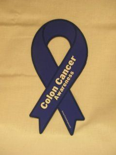 Colon Cancer Awareness Ribbon Car Magnet  Other Products