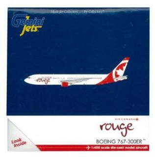 Gemini Jets Air Canada Rouge B767 300 Diecast Aircraft, 1400 Scale Toys & Games