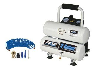 Pulsar Products PCE6020TK 2 Gallon Twin Tank Air Compressor   Air Compressor Accessories