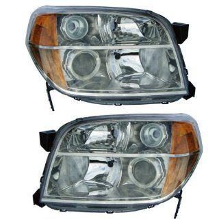 2006 2008 Honda Pilot Headlight Headlamp Head Light Lamp Pair Set Left Driver AND Right Passenger Side (2006 06 2007 07 2008 08) Automotive