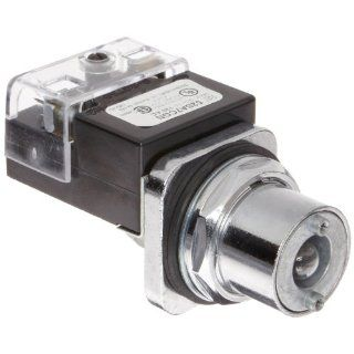 Siemens 52SA7CGN Heavy Duty Selector Switch, Water and Oil Tight, 3 Positions, Illuminated, Maintained Operation, Short Lever, Transformer, 755 Type Lamp, C Cam Code, 120V Voltage Electronic Component Selector Switches