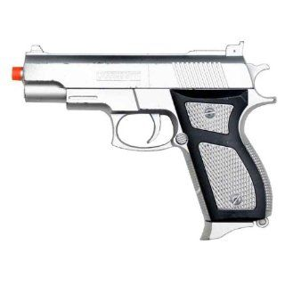 Airsoft Spring Gun Pistol M777 Silver  Sports & Outdoors