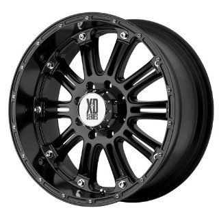 "KMC Wheels XD Series Hoss XD795 Gloss Black Wheel (16x8""/8x6.5"") Automotive"