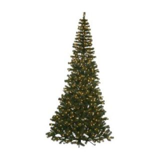 7.5 ft. Green Corner Pre Lit Christmas Tree   Christmas Trees