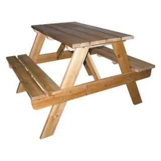 Ore International Kids Indoor/Outdoor Picnic Table   Picnic Tables
