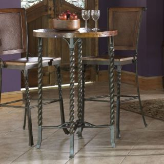Riverside Medley Round Pub Table   Bistro Tables
