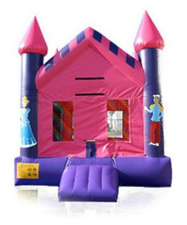 EZ Inflatables Princess Castle Jumper Bounce House   Commercial Inflatables