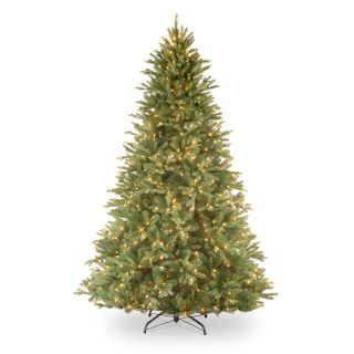 Tiffany Fir Full Pre lit Christmas Tree   Christmas Trees