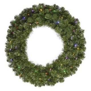 Vickerman 48 in. Pre Lit LED Grand Teton Wreath   Clear   Christmas Wreaths