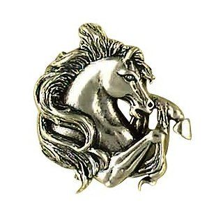 Sterling Silver Bucking Horse Animal Life Pendant Necklace Charm Women's Men's Jewelry Jewelry