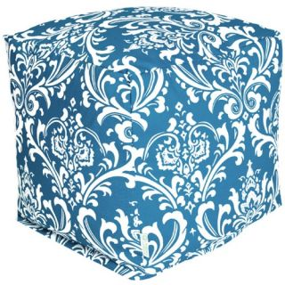 Majestic Home Goods 17 x 17 x 17 Small Outdoor Cube   Ottomans
