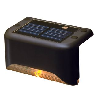 Terratec Solar Stair Step Light   set of 4   Solar Lights