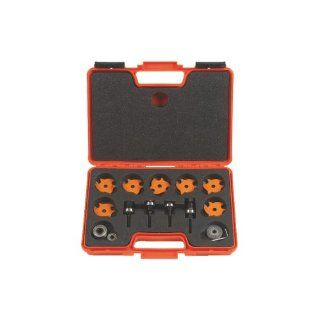 CMT 823.001.11 Slot Cutter Set in Carrying Case, 8mm bore, Carbide Tipped   Straight Router Bits