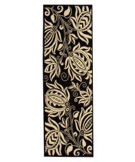 Safavieh Courtyard CY2961 Area Rug Black/Sand   Area Rugs