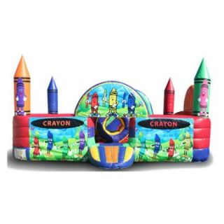 EZ Inflatables Crayon Toddler Unit Bounce House   Commercial Inflatables