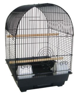 YML 3/8 in. Bar Spacing Round Top Bird Cage   Bird Cages