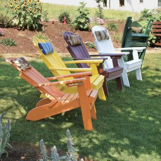 A & L Furniture Recycled Plastic Folding And Reclining Fanback Adirondack Chair   Adirondack Chairs