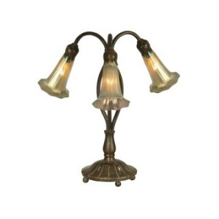 Dale Tiffany Gold Lily Replica Table Lamp   Table Lamps