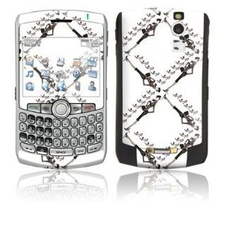 Lattice Loving Design Protective Skin Decal Sticker for Blackberry Curve 8300/ 8310/ 8320 Cell Phones Cell Phones & Accessories