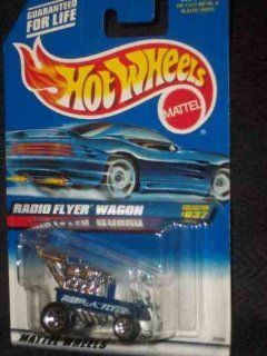 #837 Radio Flyer Wagon Blue Formed Bubble Collectible Collector Car Mattel Hot Wheels Toys & Games