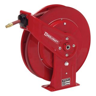 Reelcraft Heavy Duty Air/Water 1/2 in. Hose Reel   50 ft.   Equipment