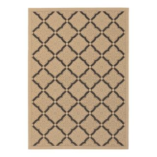 Couristan 3077 0016 Five Seasons Cream Indoor/Outdoor Rug   Area Rugs