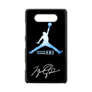First Design Infinity Galaxy Nebula Air Jordan Durable Best HARD Plastic Nokia Lumia 820 Case Cell Phones & Accessories