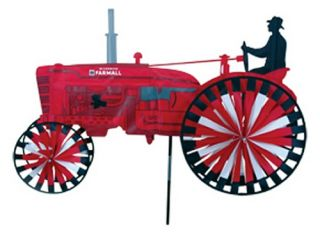 Premier Designs International Harvester Tractor Wind Spinner   Wind Spinners