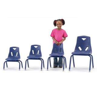 Jonti Craft Berries Plastic Chairs with Powder Coated Legs   Classroom Tables and Chairs