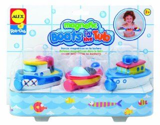 ALEX� Toys  Bathtime Fun Magnetic Boats In The Tub (3) 823W Toys & Games