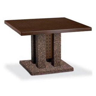 Anova Furnishings 46 in. Square Symmetry Table   Commercial Picnic Tables