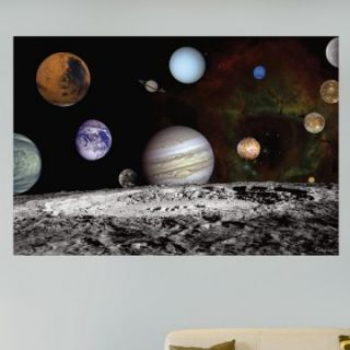 Fathead NASA Solar System Self Adhesive Wall Decal   Wall Decals