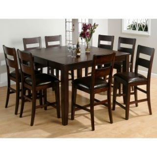 Jofran Luca Counter Height Table and 8 Chairs   Dining Table Sets
