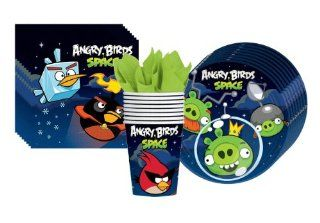 Angry Birds Space Party Supplies Pack Including Napkins, Plates and Cups  8 Guests Toys & Games