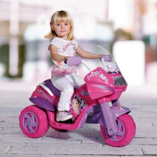 Peg Perego Princess Motorcycle Battery Powered Riding Toy   Battery Powered Riding Toys