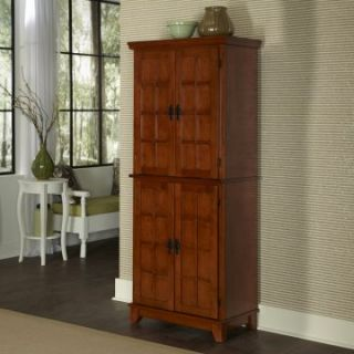 Home Styles Arts & Crafts Kitchen Pantry   Cottage Oak   Pantry Cabinets